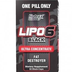 NUTREX Lipo 6 Black UC 60 Cps