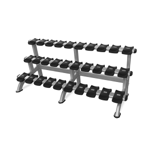 9IP-R8011-13AAS 3 TIER DUMBBELL RACK 15 PAIR