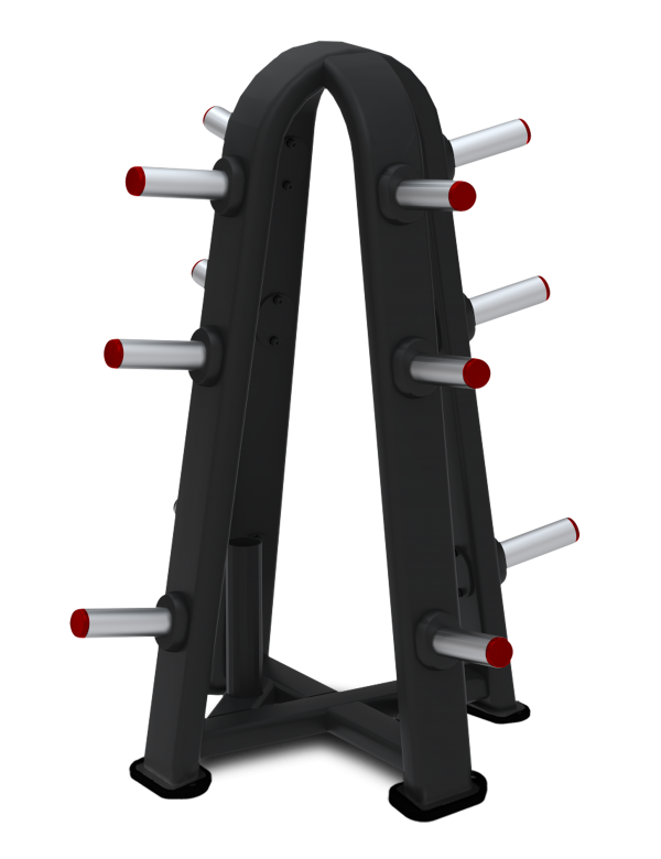 9IP-R7513-26AAS OLYMPIC WEIGHT TREE 4 SIDED WITH olympic bar holder
