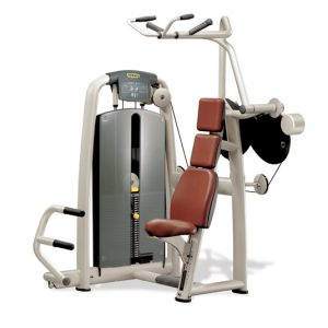 Technogym Vertical Traction selection